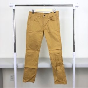 Levi's 511 Men 32 x 32 Yellow Slim Fit Jeans